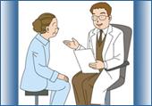 医者と患者の会話